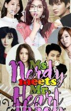 MS.NERDY MEETS MR.HEARTHROB by danielamariealcazarc