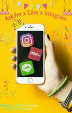 Ask.fm x Line x Instagram [SLOW UPDATE] by AlfianaHaniefaa