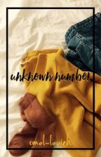 unknown number ➸ l.s. by smol-louieh
