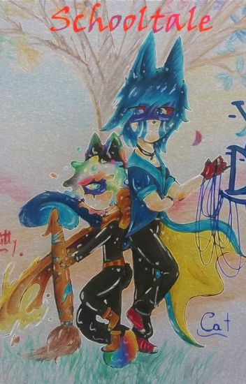 ♠Un Glitch Y Un Pintor♥ [Schooltale]~ErrorxInk~
