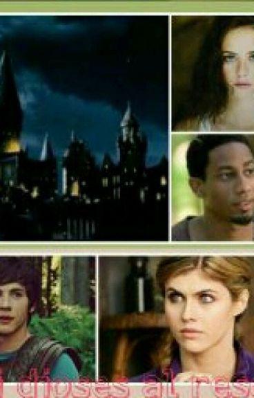 Semi Dioses Al Rescate (Semidioses En Hogwarts)