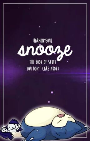 snooze by HarmonySoul
