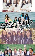 여자친구 GFRIEND Lyrics by jondelfxndoms