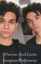 Marcus and Lucas Dobre Imagines and Peferences. by sarahlowe014
