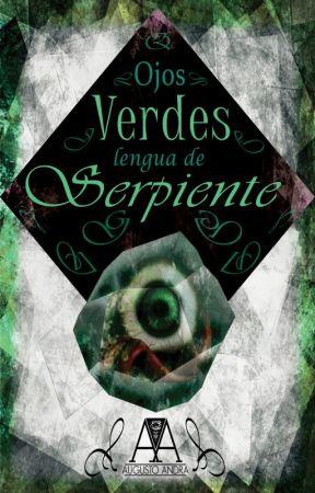 Ojos Verdes, Lengua de Serpiente by CriaturasLiterarias