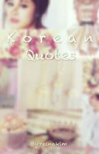 Korean Quotes by Reina_kim