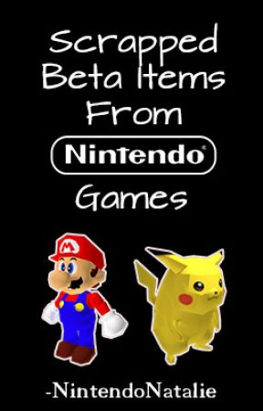 Scrapped Beta Items From Nintendo Games Luigis Mansion 2001