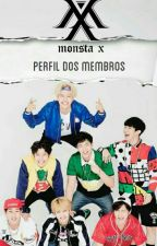 Monsta X - Perfil dos Membros by natiele_ramos