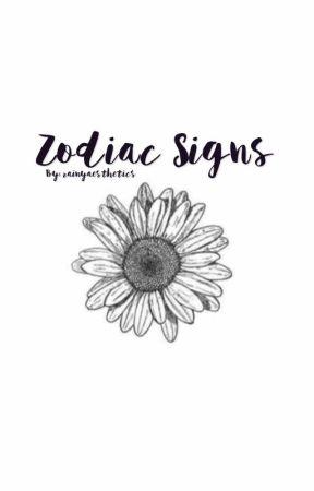 Zodiac Signs  by rainyaesthetics