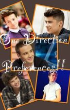 One Direction preferences by 1DBTRmuffin