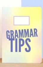 Grammar Tips by asandydr