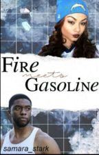 Fire Meet Gasoline ▶ C.Boseman by -wadeswilsons
