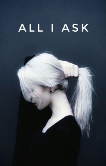 All I Ask ◇ Alec Lightwood