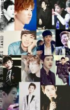 Arranged with a derp face named Park Chanyeol (new) by DianneShin17