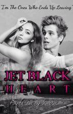 Jet Black Heart || L.H by xmanum