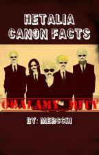 Hetalia Canon Facts {PL} by Mercchi