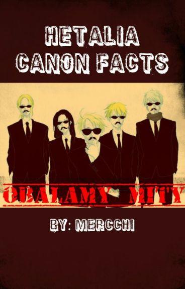 Hetalia Canon Facts {PL}