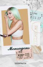 Mensagens × Justin Bieber & Kylie Jenner by homossexlwt