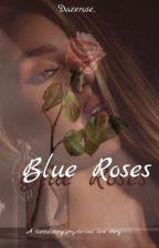 Blue Roses by dazerose44