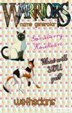 Warrior Cats Name Generator|WeTheClans| by WeTheClans