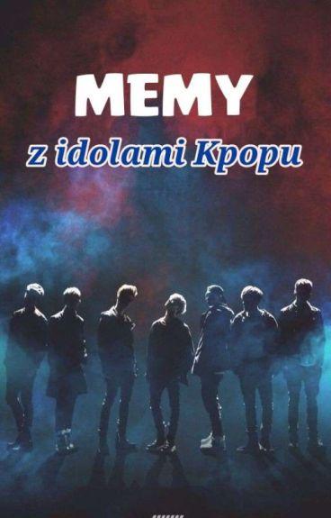Memy z idolami Kpopu