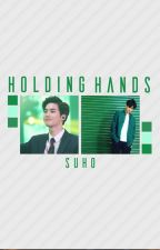 Holding Hands {EXO} by Maria_Biscoita