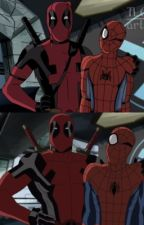 Spideypool  by thinkaheadtosaveyou