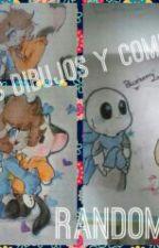 Mis Dibujos Random,comics Y Undertale(?- by Arte160htf
