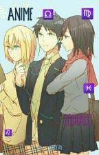 Zodiaco Anime ♍ by verde341