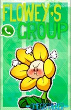 Flowey's Group. by -OmegaStalker-