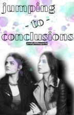 Jumping to Conclusions || Sparia AU ||  by prettylittlesparia_