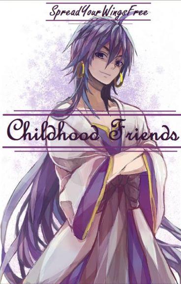 Childhood Friends (Teenage Sinbad X Reader)