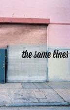 the same lines | soonhoon [ completed ] by kwnsnyun