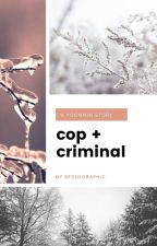 cop & criminal ; p.jm + m.yg     #LaundryOfBTS2017 by carrotkook