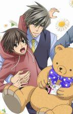 (junjou romantica Mpreg)Misaki embarazado? by historias141201