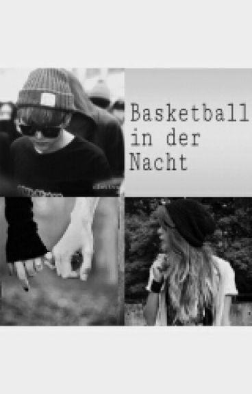 Basketball in der Nacht
