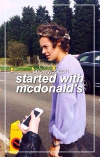 Started With McDonald's • larry