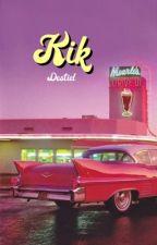 kik -» destiel [completed] by paintedhowell