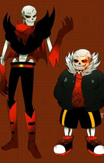 Hostile in a Good Way (Underfell!Papyrus and Sans x Male!Hybrid