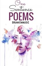 One Sentence Poems by drunkenmusic