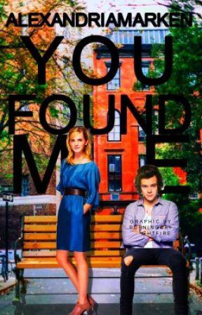 You Found Me h.s. // AU by alexM111