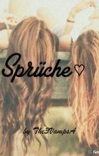 Sprüche ♡ by The3VampsA