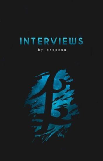 Intervīews