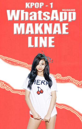 WhatsApp Maknae Line // KPOP 1