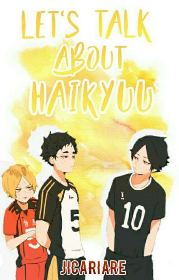 let's talk about haikyuu