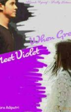 When Grey Meet Violet by adiputrif