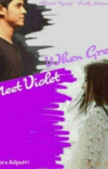When Grey Meet Violet