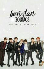 bangtan zodiacs。bts by aegyiious
