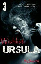 Wishlist 3: Ursula by jhavril