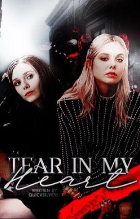 Tear In My Heart » Wanda Maximoff by quicksilvers-